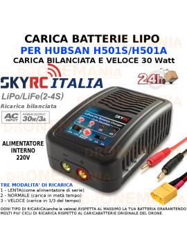 SKYRC CARICABATTERIE VELOCE PRO BATTERIE LIPO DRONE LITIO carica bilanciata