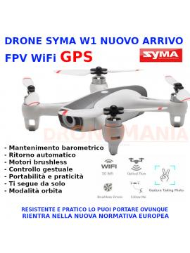 Nuovo SYMA W1 PRO GPS 5G WIFI 5MP 1080P HD Drone quadricottero