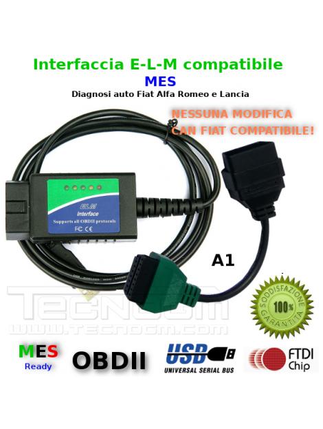 Interfaccia diagnosi e adattatore A1 diagnosi MES per FIAT ALFA LANCIA
