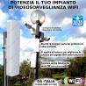 RIPETITORE potenziatore WiFi da esterno per TELECAMERE IP sorveglianza NVR