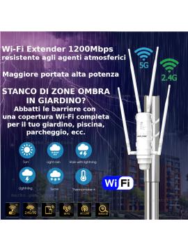 Antenna WiFi da esterno ottima copertura standard AC velocissima dual band