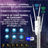 RIPETITORE SEGNALE WIFI AC1200 DA ESTERNO 2,4 5Ghz RIPETITORE WI FI RETE LAN