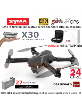 Drone SYMA X8W XXL GRANDE drone HEADLESS CAMERA WIFI VIDEO REALTIME IN DIRETTA