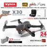 DRONE SYMA Z6 X30 WIFI GPS BLOCCO ALTEZZA barometro FPW 2 camera 4k NOVITÀ DELL'ANNO