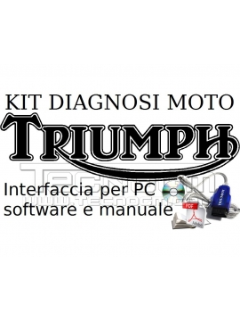Kit per fai da te diagnosi per PC moto Triumph