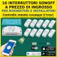 Pacchetto 10 Sonoff BASIC domotica automazione domestica Alexa Google
