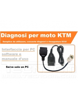 Kit diagnosi e rimappatura ECU moto KTM