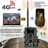 FOTOTRAPPOLA 20MP HC-801 LTE 4G HD MIMETICA SPIA OCCULTABILE INFRAROSSI