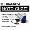 Kit Diagnosi Moto Guzzi diagnosi fai da te per computer presa diagnosi rossa