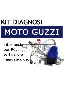 Kit Diagnosi Moto Guzzi diagnosi fai da te per computer