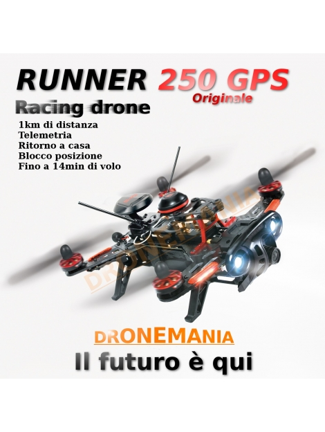 WALKERA RUNNER 250 ANVANCED DRONE RACE drone FPV ULTRAVELOCE 1KM DISTANZA