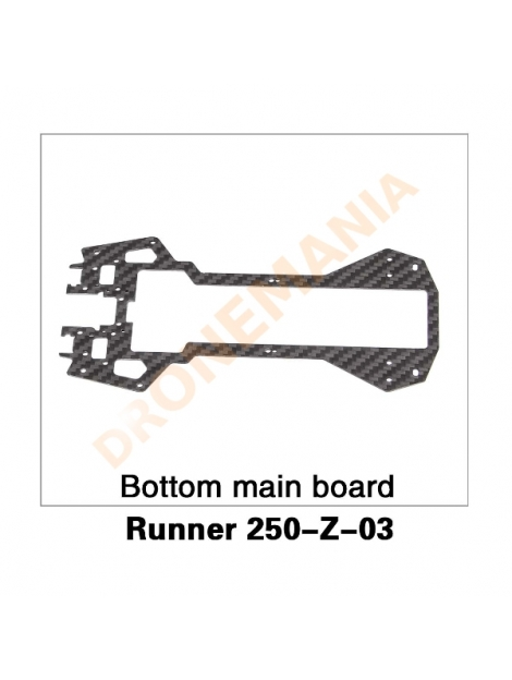 Piastra scheda elettrica centrale Walkera 250 Advanced e Runner 250 - Runner 250-Z-02