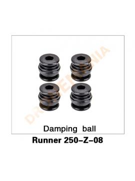 Ammortizzatori supporto camera extra Walkera 250 Advanced e Runner 250 - Runner 250-Z-07