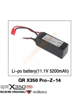 Batteria drone Walkera QR X350PRO QR 350 X350