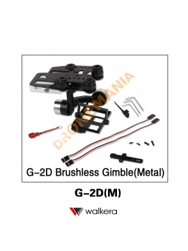 Gimbal Walkera G-2D due assi stabilizzatore meccanico