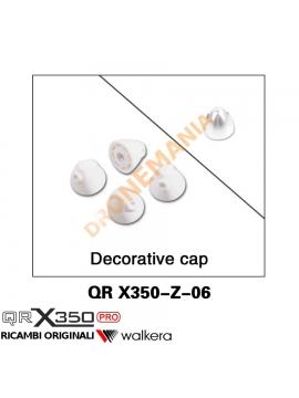 Set Cappuccio (plastico) serra elica drone Walkera QR X350PRO QR 350 X350