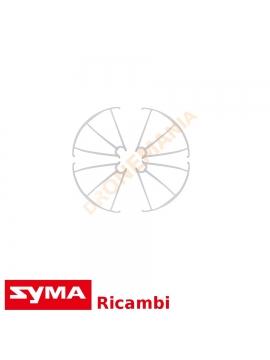 Protezione eliche BIANCO Syma X5 SW SC HC HW griglie protezoine DRONE