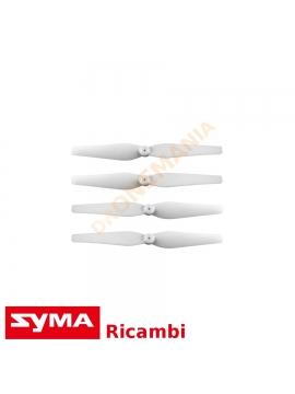 Eliche Bianco drone Syma X8 X8C X8W X8HW X8HG X8HC