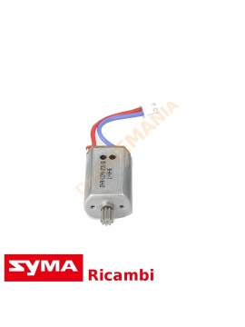 Motore drone Syma X8 X8C X8W X8HW X8HC cavo rosso blu ricambio Syma motore elettrico