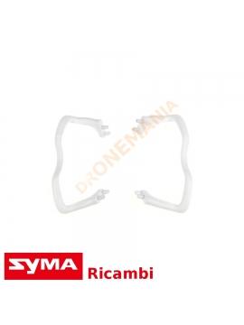 Pattini atterraggio piedi Syma X5C drone