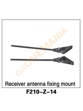 Fissaggio antenne drone F210 3D Walkera F210 Z-14 Receiver antenna fixing mount