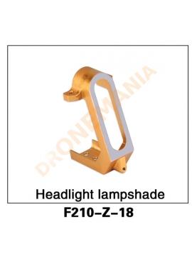 Telaio protezione luce anteriore drone F210 3D Walkera F210 Z-18 Headlight lampdshade