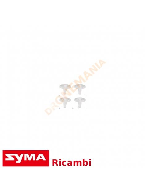 Set 4 Ingranaggio drone Syma X8 X8C X8W X8HW X8HG X8HC drone ricambio ingranaggi primari rotore