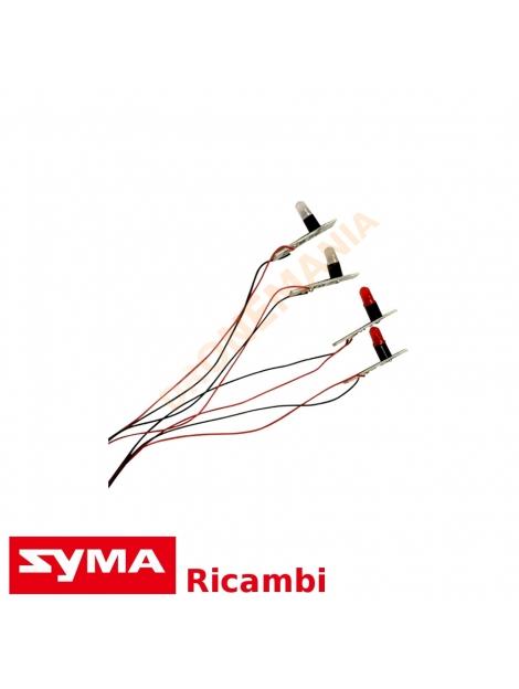 Led Syma X8 X8C X8W X8HW X8HG X8HC drone ricambi Syma LED luci notturne