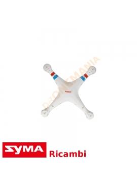 Guscio superiore bianco Syma X8 drone X8C X8W upper body drone