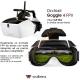 Occhiali FPV Goggle4 Walkera drone Runner 250 F210 guida in prima persona dronemania