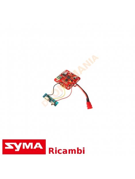 Scheda di volo Syma X5HW ricambi originali drone elettronica centrale