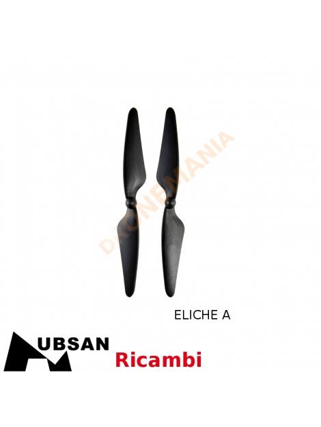 hubsan h501s eliche  Eliche di ricambio drone Hubsan H501S da dronemania ricambi per il ...