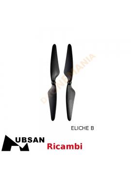 Hubsan H501S eliche B col nero H501S-05 blades