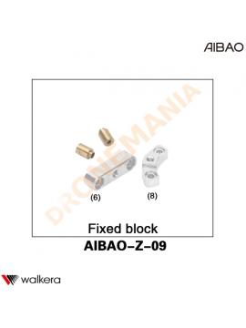 Blocchi fissaggio Walkera AiBao drone AIBAO-Z-09 placche fissaggio telaio