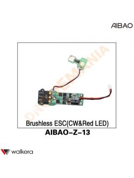ESC CW LED ROSSO Walkera AiBao drone AIBAO-Z-13 posteriore destra
