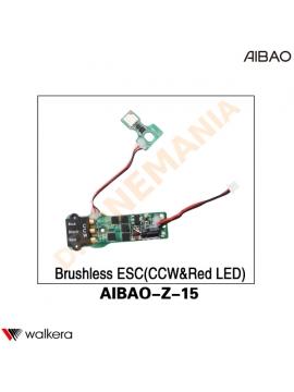 ESC CCW LED ROSSO Walkera AiBao drone AIBAO-Z-15 posteriore sinistra