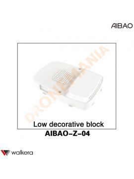 Decorazione inferiore Walkera AiBao drone AIBAO-Z-04 plastica inferiore drone