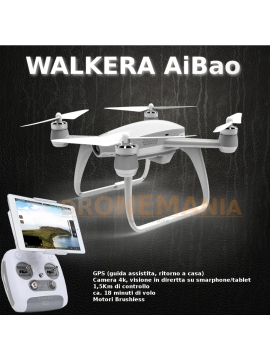 Walkera aibao drone gps camera 4k 18min volo video in for Telefono camera dei deputati