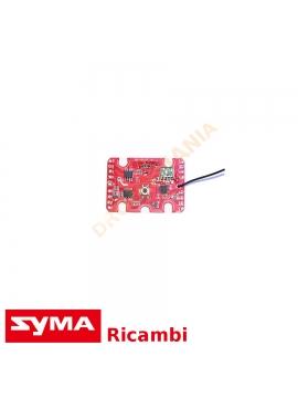 Scheda di volo drone X5UW drone Syma clip fissa elettronica centrale receiver board