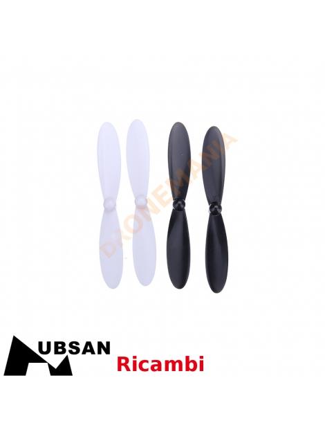 Set eliche Hubsan H107L H107P ricambi originali drone dronemania