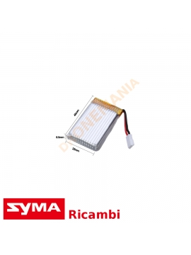 Batteria 950 mAh superleggera Syma X5SW X5SC X5C drone batteria potenziata maggior tempo di volo leggerissimia