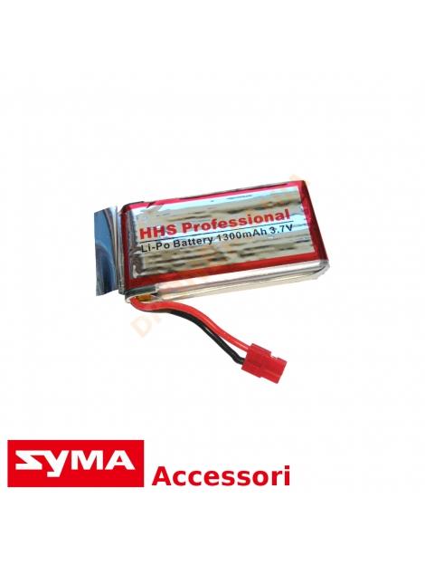 Batteria 1300 mAh potenziata Syma X5HW X5HC drone maggiore tempo di volo batteria LiPo ricaricabile