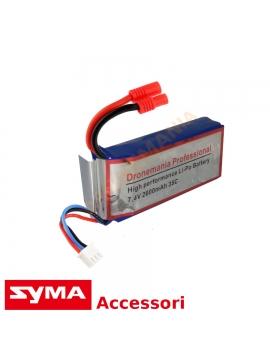 Batteria potenziata Syma X8 X8HW X8HC X8HG X8W X8C X8G drone batteria 2600 mAh 35C 2S
