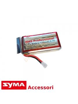 Batteria 1400 mAh Syma X5SW X5SC batteria maggiorata massimo tempo volo drone
