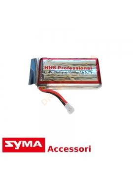 Batteria 1300 mAh Syma X5SW X5SC batteria maggiorata potenziata prolunga tempo di volo
