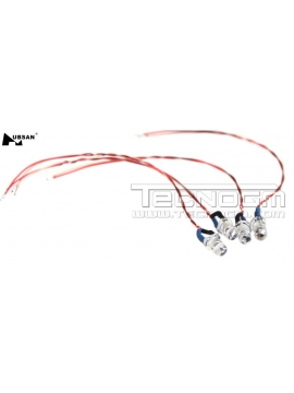 LED rosso Hubsan H107C H107D H107L ricambio spare parts drone quadcopter