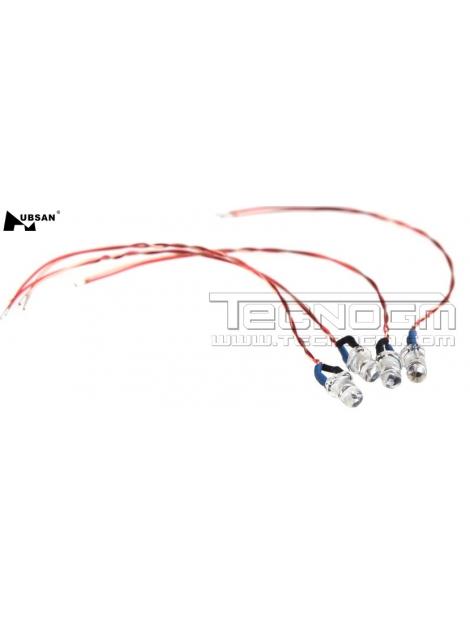 LED rosso Hubsan H107C H107D H107L ricambio spare parts drone quadcopter