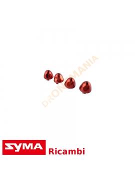 Cover elica Syma X8SW set 4 pezzi ricambi drone Symatoys dronemania