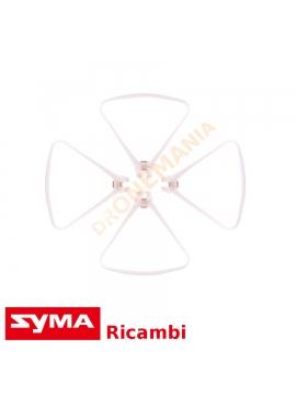 Griglie di protezione Syma X8SW set 4 pezzi ricambi drone Symatoys dronemania griglie