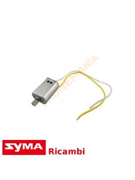 Motore drone Syma X8SW X8 PRO cavi bianco giallo ricambi motore per elica B